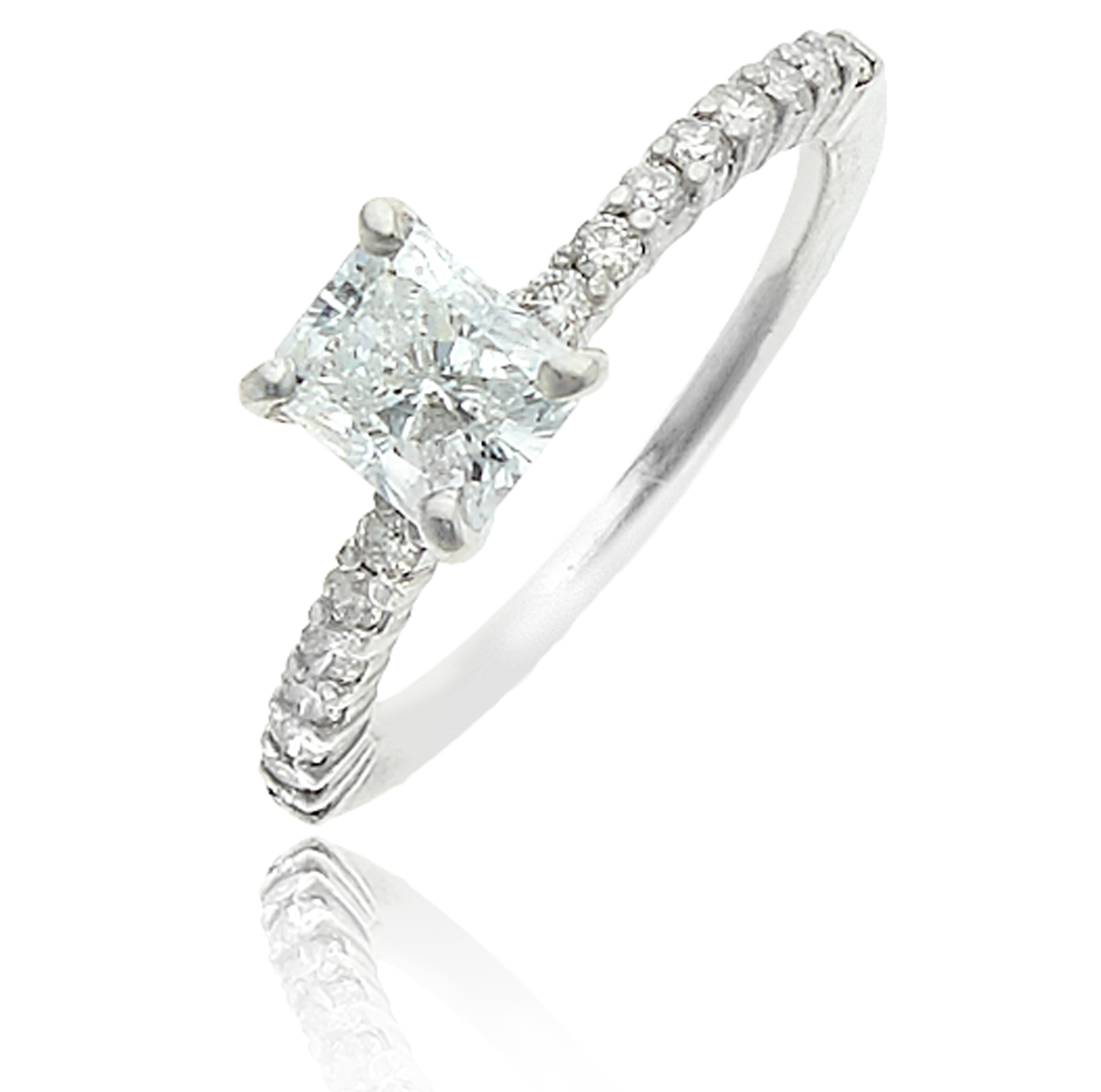 product diamond cut home milgrain princess engagement stone with and halo jewellery ring e top rings